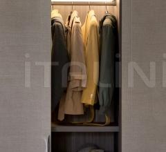 Итальянские шкафы гардеробные - Шкаф River фабрика Flou