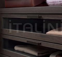 Итальянские шкафы гардеробные - Шкаф Texture фабрика Flou