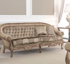 Трехместный диван Europa 9650E фабрика Seven Sedie