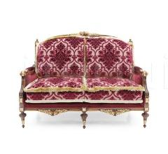 Двухместный диван Giove 9830D фабрика Seven Sedie