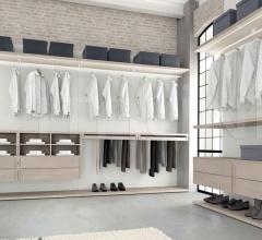 Итальянские спальни - Гардероб Multiplo фабрика Santarossa