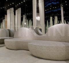 Трехместный диван STRADIVARI фабрика Zanaboni