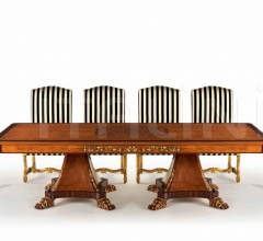 Стол обеденный W.005/RECTANGULAR TABLE WOOD TOP фабрика Zanaboni