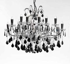 Итальянские свет - Люстра 6105/15+3 LED фабрика Beby Group