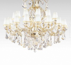 Итальянские свет - Люстра 9051/18+12+6 LED фабрика Beby Group
