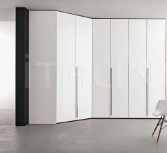 Dressing room wardrobe w/ 2 x 45° doors