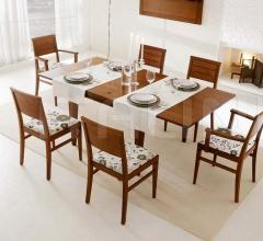 Square extendable folding table