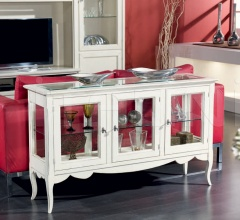 Carpi 3 Glass Cabinet