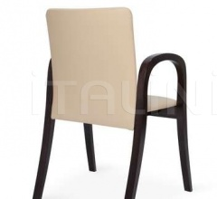 MV2 B sed./sch. tappezzati - Wood chair
