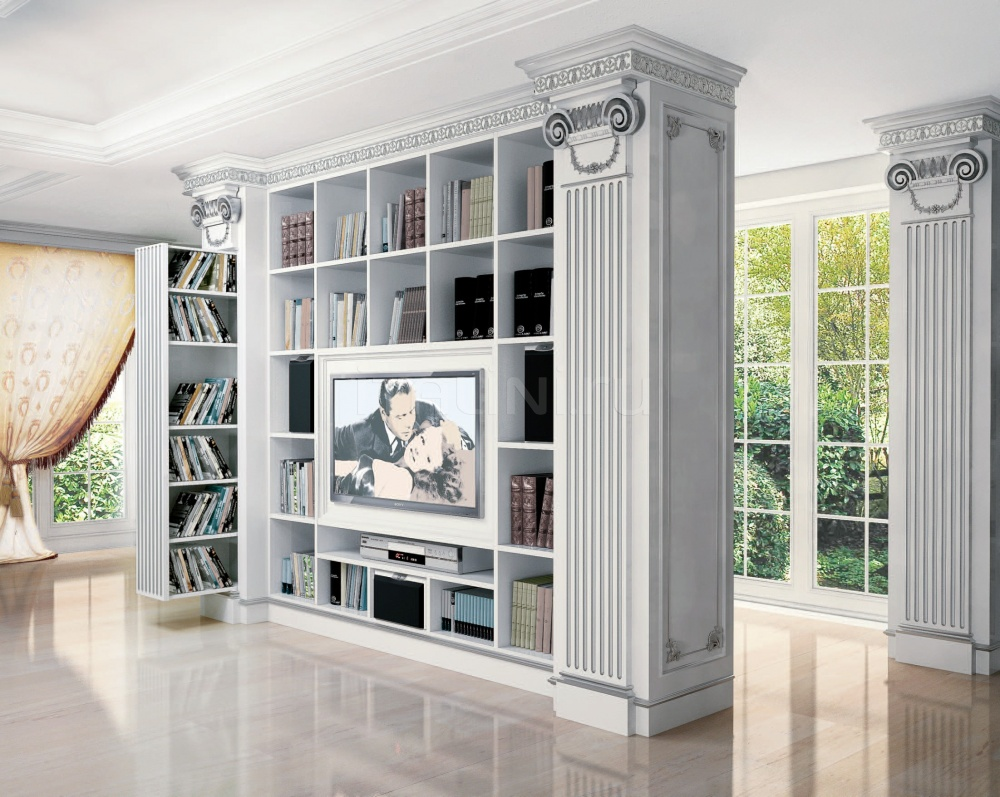 Tv stand for contemporary classic living room, for villas id.