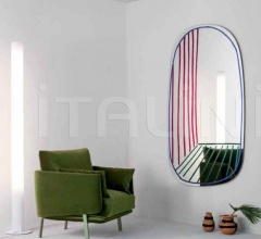 Настенное зеркало New Perspective Mirror фабрика Bonaldo