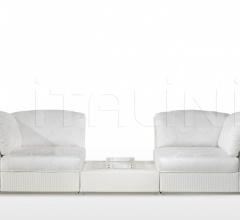 Модульный диван Amore Outdoor фабрика Fendi Casa