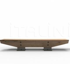 Итальянские скамейки - Скамья LANDMARK фабрика Riva 1920