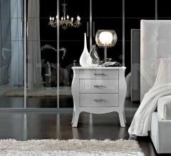 Итальянские спальни - Тумбочка VG021BL фабрика Santarossa