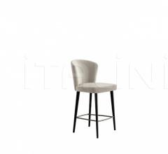 Итальянские барные стулья - Барный стул Aston фабрика Minotti