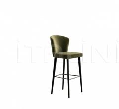 Итальянские рестораны/бары - Барный стул Aston фабрика Minotti