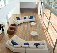 Модульный диван Hamilton Islands фабрика Minotti