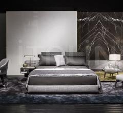 Кровать Yang фабрика Minotti