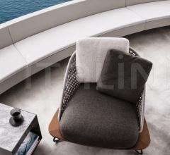 Итальянские кресла - Кресло Rivera фабрика Minotti