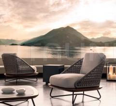 Итальянские уличные кресла - Кресло Rivera фабрика Minotti