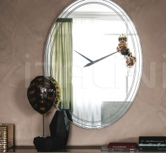 Настенное зеркало-часы Forever фабрика Cattelan Italia