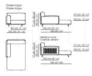 Модульный диван Frame Arflex