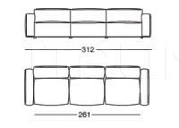 Модульный диван Marechiaro XIII Arflex