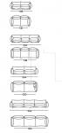 Модульный диван Marenco Arflex