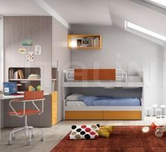 Space-saving bedroom 30