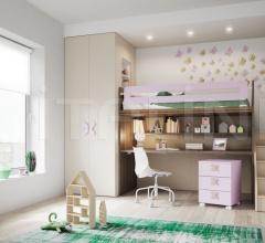 Space-saving bedroom 35