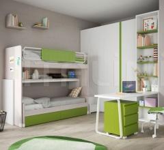 Space-saving bedroom 36