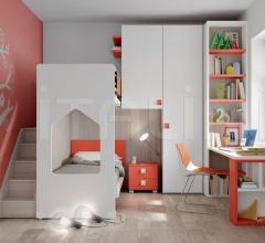 Space-saving bedroom 38