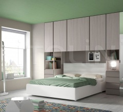 Space-saving bedroom 44