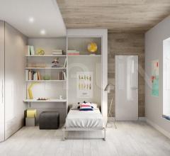Space-saving bedroom 43