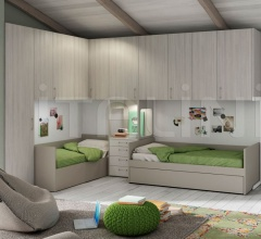 Bedroom with overbed unit 18