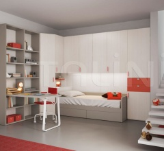 Bedroom with overbed unit 20