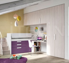 Bedroom with overbed unit 22