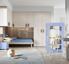 Bedroom with overbed unit 23