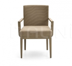CONTOUR chair with armrests