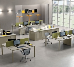 Office solutions with Anyware bench.