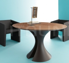 ola walnut meeting table