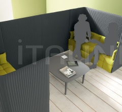 Relaxing areas composed with Inattesa.