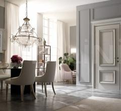 AMANTEA 1314/QQ beige sponge painted door Classic Wood Interior Doors