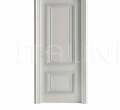 AMANTEA 1314/QQ Nacreous and silver painted door Classic Wood Interior Doors