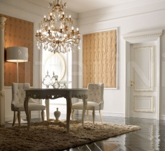 MARATEA 1364/QQ White lacquered shiny painted door Classic Wood Interior Doors