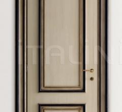 PIETRALTA 1324/QQ Ivory and black painted door Classic Wood Interior Doors