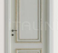 PIETRALTA 1324/QQ Silver-grey painted door Classic Wood Interior Doors