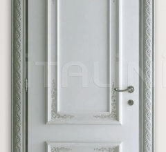 PIETRALTA 1324/QQ Ice coloured sponge painted door Classic Wood Interior Doors