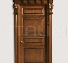 BASTIGLIA 1135/Q antiqued tulipwood with gold Classic Wood Interior Doors