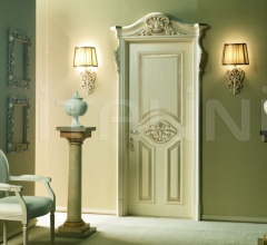 PALAZZO D'INVERNO 5016/QQ/INT. Aged coated silver Classic Wood Interior Doors
